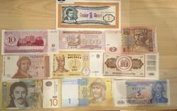 Európai bankjegyek (10 db)
