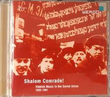 SHALOM COMRADE ! YIDDISH MUSIC IN THE SOVIET UNION 1928 - 1961 - CD - JUDAIKA