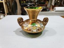 Csehszlovák kristály váza