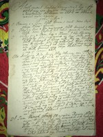 Kis Komárom / Komárváros 1815. január 31. Per Irat ,dokumentum!