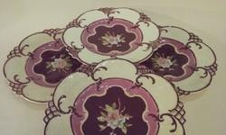 5 db Rudolf Ditmar Znaim süteményes tányér