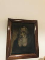 Barabás Miklós jelzéssel gyönyőrű portré ! 18-dik századi