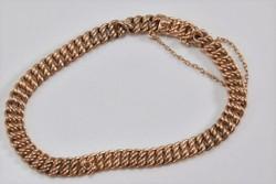 Antik14.kr.arany karkötő mester jegyes