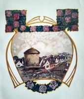 Tóth Béla/Mühlbeck Károly: Gül Baba, Lampel szecessziós kiadás 1907
