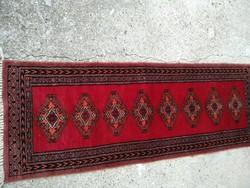 Szőnyeg , pakisztáni bochara, 130x40 cm
