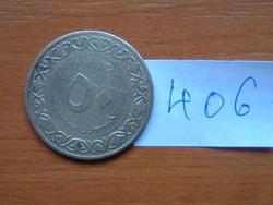 ALGÉRIA 50 CENTIMES 1964 1383 # 406