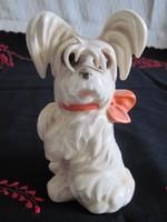 Antik Goebel porcelán kutya illatlámpa parfüm asztali lámpa