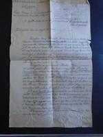 ZA321.22  Régi irat  Csendőr  Csendőrség Sárbogárd Alsótöbörzsök  1926  Strausz Horváth  Judaika