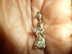 Aranyozott ezüst medál