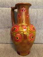 Zsolnay körbélyegzős váza.