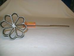 Régi rózsafánk, fánk sütő, sütemény forma - virág