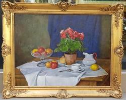 Bánovszky Miklós (1895-1995):Asztali csendélet