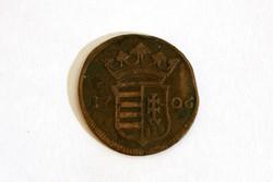 II. Rákóczi Ferenc (1705-1711) X 10 Poltura 1706