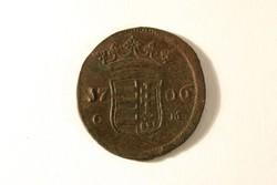 II. Rákóczi Ferenc (1705-1711) X 10 Poltura 1706 C-M   CM C M