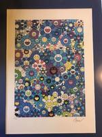 Takashi Murakami (1962-) eredeti kiadású szita nyomat 150/13. db.