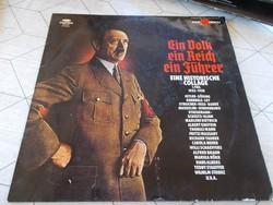 WW2,Lemez, Ein Volk,ein Reich,ein Führer