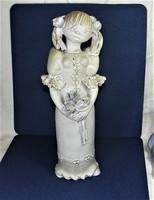 Kovács Éva Kerámia Figura 36 cm