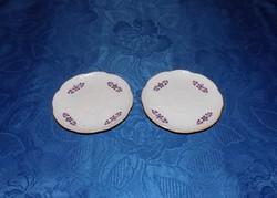 Zsolnay porcelán csésze alátét  párban 12 cm (2p)