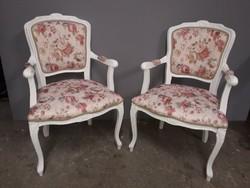 2 db . restaurált neobarokk kis fotel.