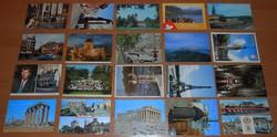 20 nyugati képeslap levelezőlap futott régebbi