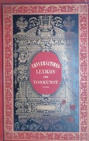 CONVERSATIONS - LEXIKON   -  DER TONKUNST - HANGMŰVÉSZET