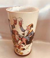 Villeroy &Boch Mettlach sörös pohár