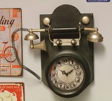 Régi telefon formájú óra