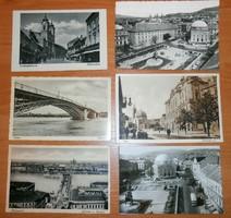 6 magyar képeslap képes levelezőlap futott