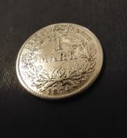 1 Márka 1874 G Német Birodalom