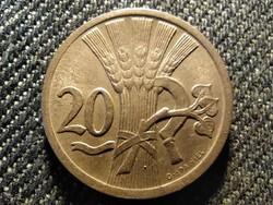 Csehszlovákia 20 heller 1937 (id25871)