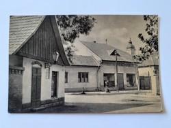 Régi képeslap 1960 Dunavecse Földművesszövetkezet