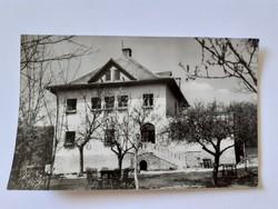 Régi képeslap 1962 Csikóváraljai turistaház