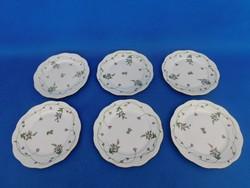 Herendi Imola  mintás 6 sz sütis tányér garnitúra