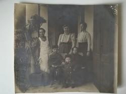 Régi vintage fotó a gangon