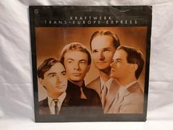 Krauftwerk Trans Europa Express LP bakelit lemez