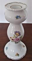 21,5 cm-es Wallendorf porcelán gyertyatartó