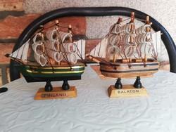 Balaton-Finland mini fa hajók