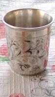Antik ezüst zsidó kiddish csésze