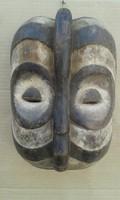 Afrikai antik maszk Luba népcsoport Kongó