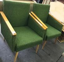 Retro garnitúra (2 db fotel és dohányzó asztal)