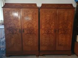 Eladó 2 ajtós szekrény párban
