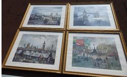 H. Moss litográfia gyűjtemény : London -i képek