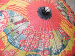 Hagyományos japán esernyő, napernyő