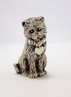 Ezüst cica figura (ZAL-BI40173)