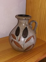 Nádas retro kerámia váza