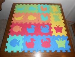 Szőnyeg játszószőnyeg puzzle kirakó habszivacs állatos gyerekjáték
