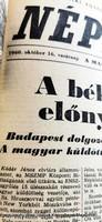 1960 10 16  /   SZÜLETÉSNAPRA    /  NÉPSZABADSÁG  /  Ssz.:  17385