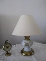 Jelenetes cseh porcelán lámpa