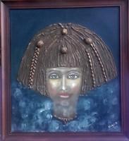 Polinéziai képek Károlyfi Zsófia Prima-díjas alkotó különleges művei. Ezredfordulóban készült képek.
