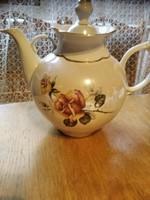 Sárga Rózsás egyedi méretű teás kanna  hatalmas